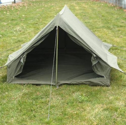 French Armed Forces OD 2-Man F1 Tent W/Ground Sheet
