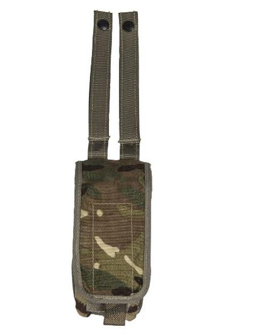 British Armed Forces MTP Camo Sa80 Double Magazine Belt Pouch