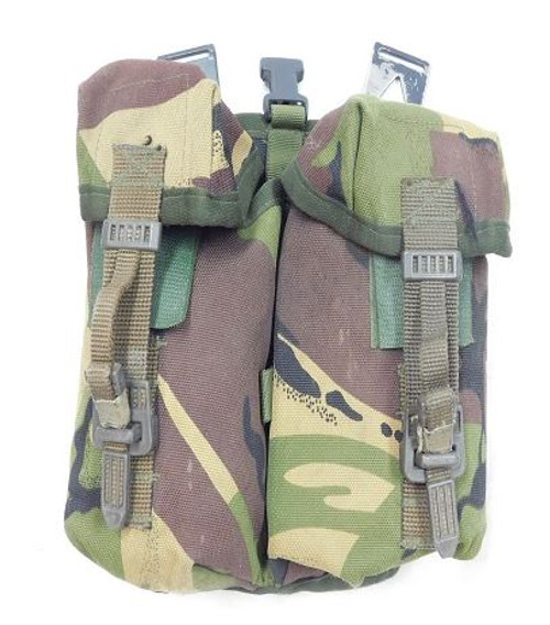British Armed Forces Dpm Camo Double Magazine Pouch