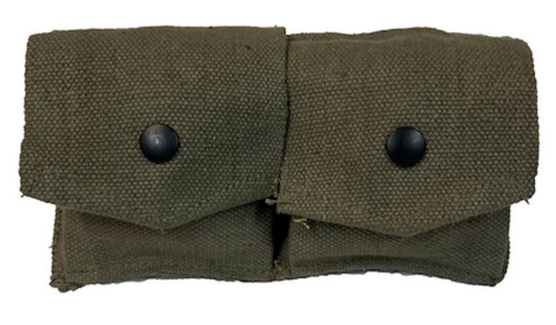 French Armed Forces Mas 36/49 2-Pc. Canvas Pouch