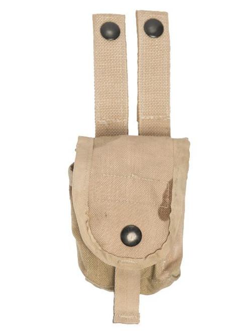 US Armed Forces GI Desert Camo 2-Pkt. Grenade Belt Pouch