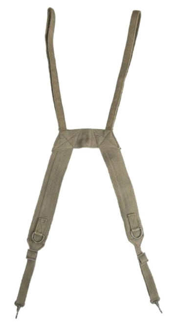 French Armed Forces OD Field Suspenders