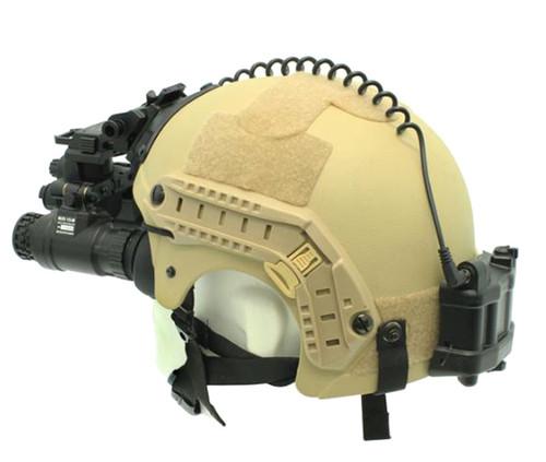 Newcon Optik 1x, Gen 3 Dual Tube Gen 3 NV Goggles, built in I/R, low bat and I/R On indicators