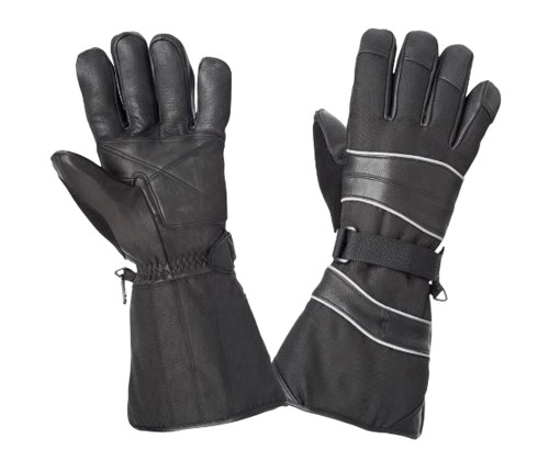 Snowmobile Glove (Black) - 2 Pack