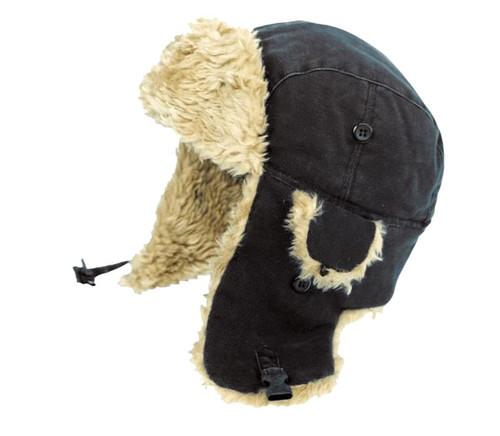 Aviator Hat (Black) - 4 Pack