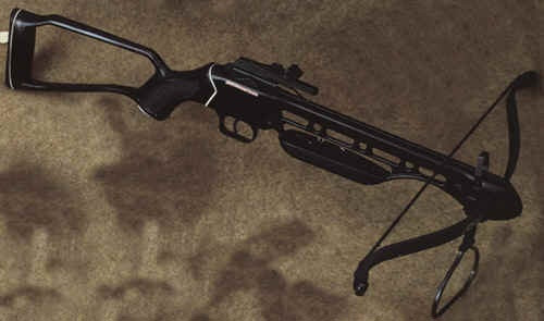 Pistol Grip CrossBow - Hollow Stock