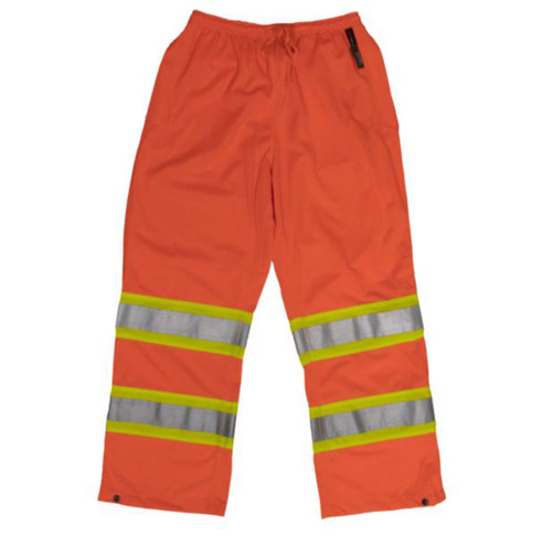 Safety Pull-On Pant (Fluorescent Orange) - 3 Pack