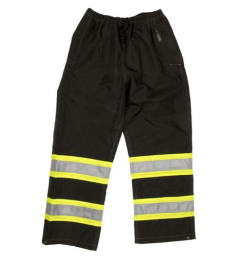 Safety Rain Pant (Black) - 2 Pack