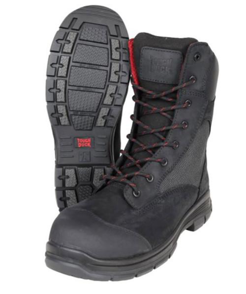Adelaide 8″ Comp Toe Work Boot (Black)