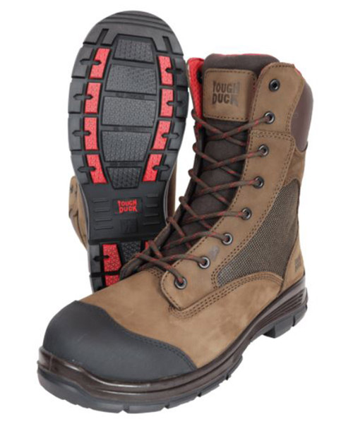 Adelaide 8″ Comp Toe Work Boot (Brown)