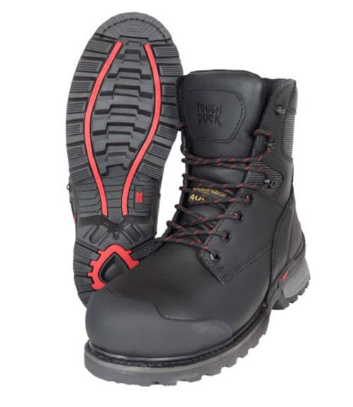 Jarvis 8″ Alloy Toe Work Boot (Black)