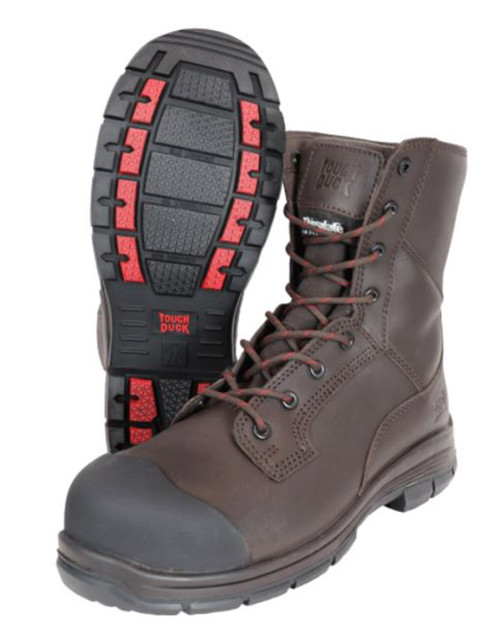 McDermot 8″ Steel Toe Work Boot (Brown)