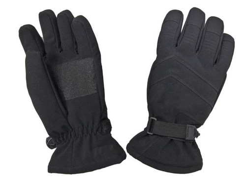 Casual Soft Shell Glove (Black) - 4 Pack