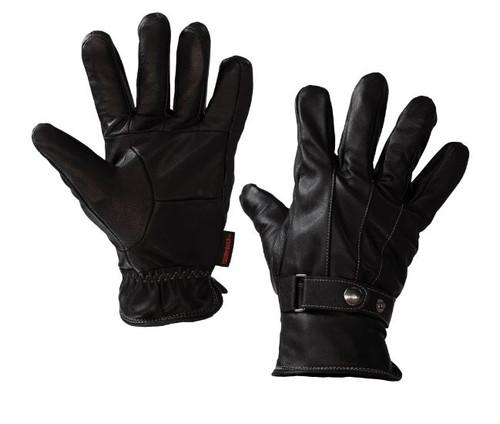 Lambskin Glove with Contrast Stitch (Black) - 4 Pack