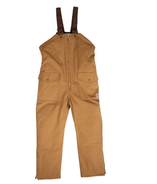 Work King Insulated Bib Overall (Brown)