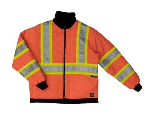 Reversible Jacket (Fluorescent Orange)