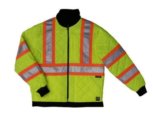 Reversible Jacket (Fluorescent Green)