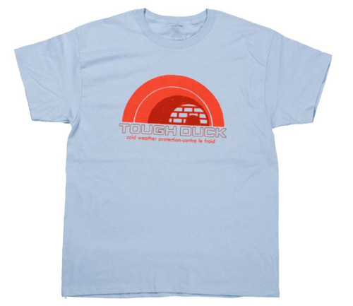 S/S Igloo Throwback T-Shirt (Light Blue) - Pack of 4