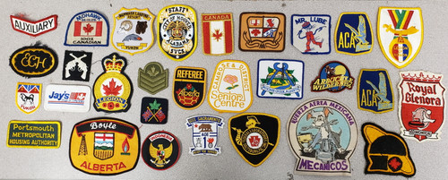 Misc. Authentic Issue Patch Lot - 119 Patches