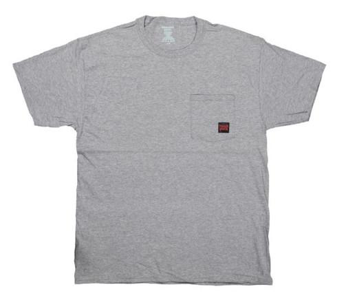S/S Logo Pocket T-Shirt (Athletic Grey) -4 Pack