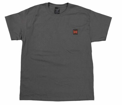 S/S Tough Duck Logo T-Shirt (Charcoal) - 4 Pack