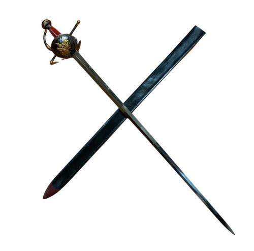 Replica Don Quixote Spanish Rapier w/Sheath