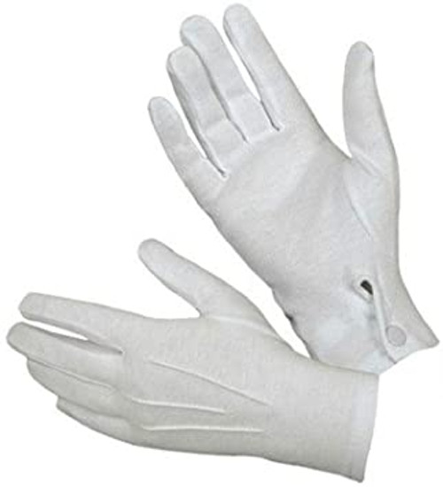 Canadian Armed Forces White Parade Gloves