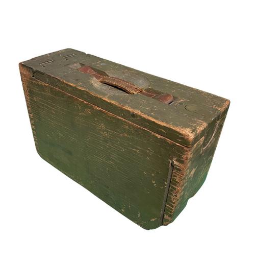 WWI U.S. Military Browning Machine Gun Ammo Box M1917