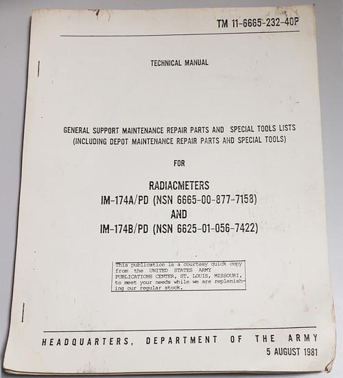 Radiacmeters General Support Maintenance Repair Manual