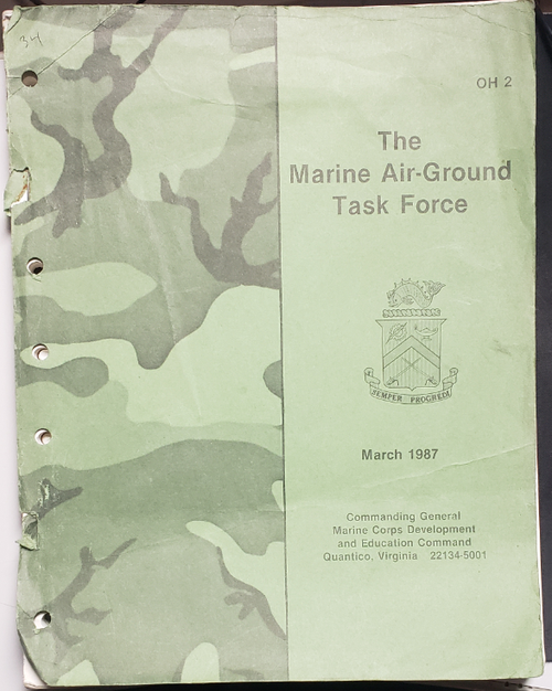 The Marine Air-Ground Task Force Military Manual
