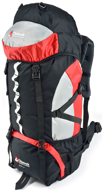 Chinook Shasta 65 & 75 Expedition Pack (Red)