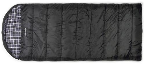 Trailside Dawson 8 (-22F) Sleeping Bag (Color: Black)