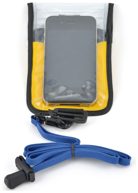 Chinook AquaTight Cell Phone Protector (Color: Yellow)