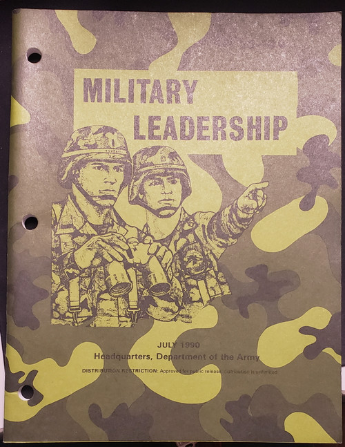 US Armed Forces Field Manual - Military Leadership (1990)