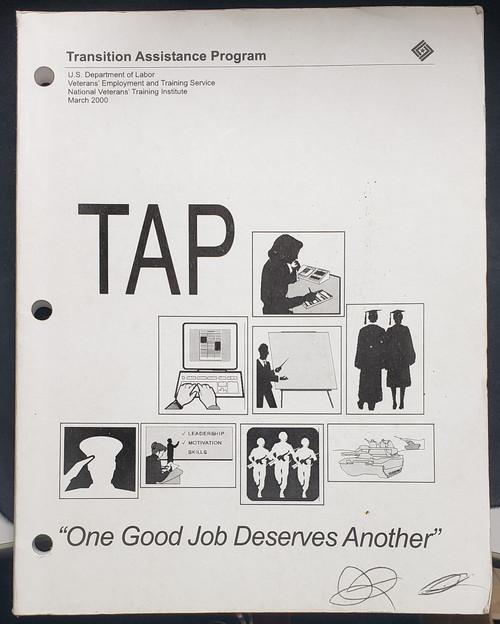 US Armed Forces Info Pamphlet - Transition Assistance Program (2000)