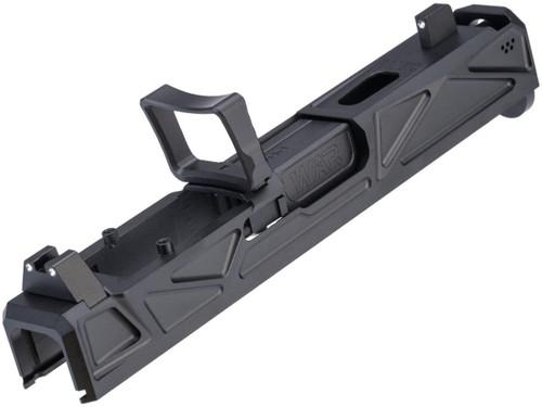 Janus Division WAR Licensed Afterburner RMR Slide Set for GLOCK 19 Gen.3 Series GBB Pistols
