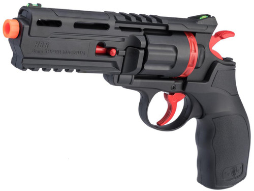 """Elite Force H8R Gen 2 Limited Edition """"Black & Red"""" CO2 Powered Airsoft Revolver"""