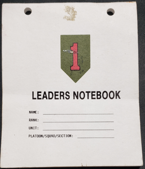 US Armed Forces Notebook - NCO Leader's Notebook (1993)
