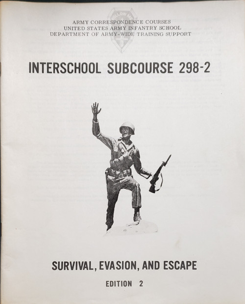 US Armed Forces Training Manual - Survival, Evasion, and Escape (1976)