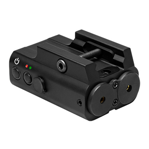 Green And Red Laser Box w/Rail Mount