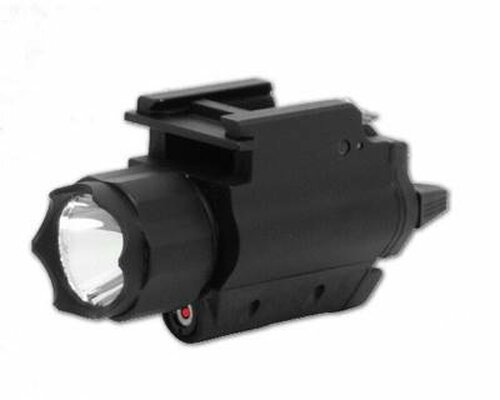 200L FlashLight & Red Laser - QR Mount