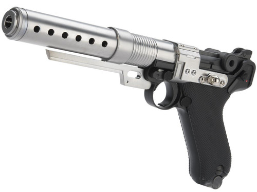 """AW Custom Limited Edition Custom Built Luger P08 6"""" Pistol with Muzzle Device"""