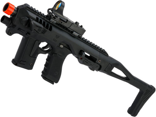 CAA Airsoft Micro Roni Pistol Carbine Conversion Kit with Elite Force GLOCK 17 Airsoft GBB Pistol
