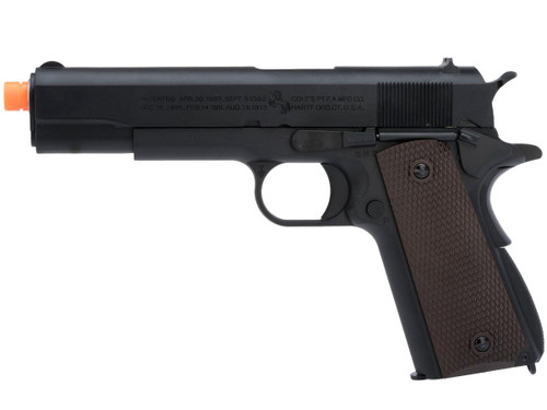 Cybergun Colt Licensed 1911A1 Airsoft Gas Blowback Pistol by AW Custom (Model: Green Gas)
