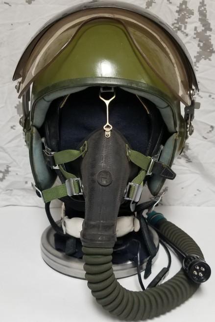 Soviet 1986 ZSh-6B Armored Steel Helmet