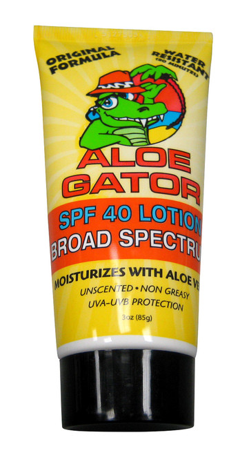 Aloe Gator SPF 40 Total Sunblock Lotion