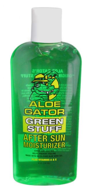 Aloe Gator Green Stuff Aloe Vera Gel
