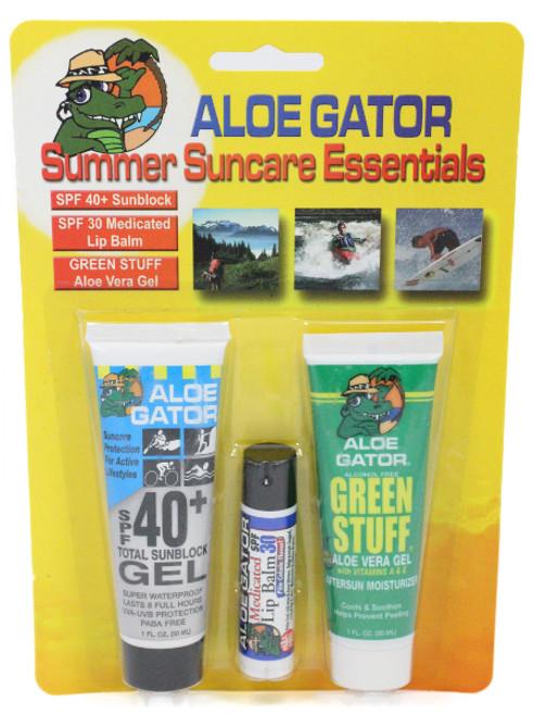 Aloe Gator Summer Suncare Combo Pack