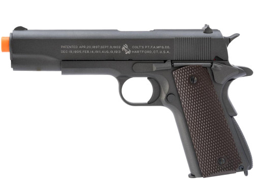 Colt 100th Anniversary Licensed Full Metal M1911 A1 Airsoft CO2 GBB by KWC (Version: Low Power)