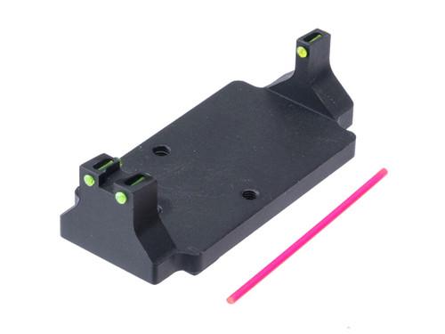 5KU Fiber Optic RMR Mount Base for GLOCK Series GBB Pistols